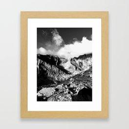 Meeker and Longs Peak Framed Art Print