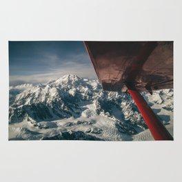 Flying Around Denali Rug