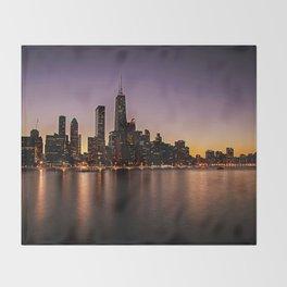 Chicago Skyline - new! Throw Blanket
