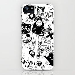 Anime Girl Kawaii iPhone Case