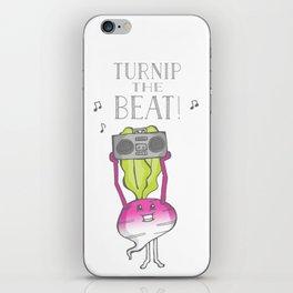 Turnip the Beat! iPhone Skin
