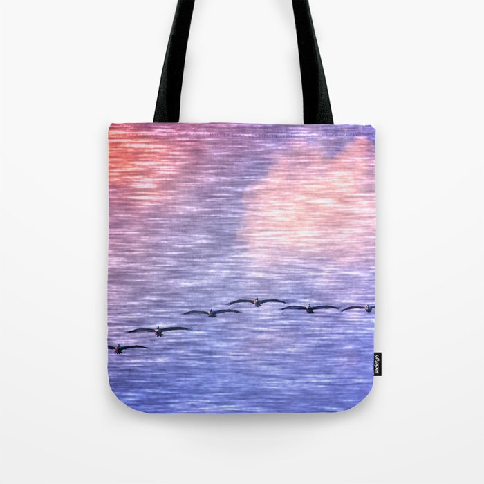 Flight Formation Tote Bag