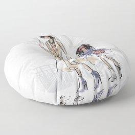 Stylish Mini Me Floor Pillow