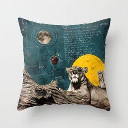 tiger the weirdo Throw Pillow