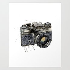 Take A Picture ! Art Print