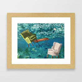 Capsize Framed Art Print