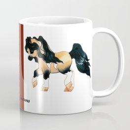 Buckskin Pinto Pony Coffee Mug