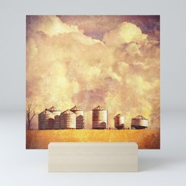 Summer Silos Mini Art Print