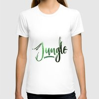 jungle T-shirts featuring Jungle by Insait