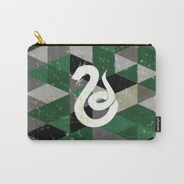 Slytherin House Pattern Carry-All Pouch