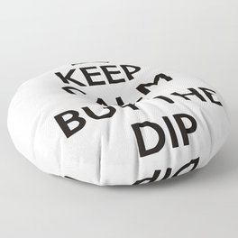 Crypto Currency Floor Pillow
