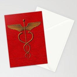 Sacred Caduceus Stationery Cards