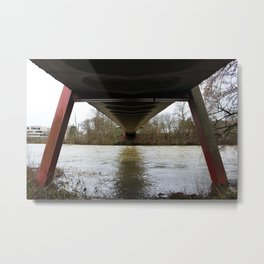 Dry walking Metal Print