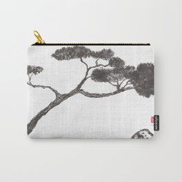 Tree and Stone Carry-All Pouch