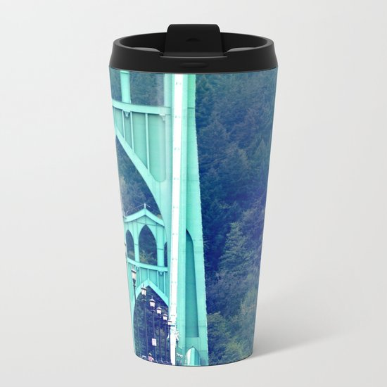 ST. JOHN'S BRIDGE Metal Travel Mug