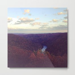 Coopers Rock Metal Print
