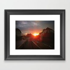 Home. Framed Art Print