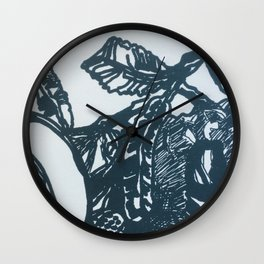 Rooibos Please Wall Clock