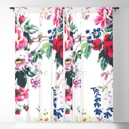 Bouquets with roses Blackout Curtain