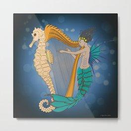 Ocean Lullaby3 Metal Print