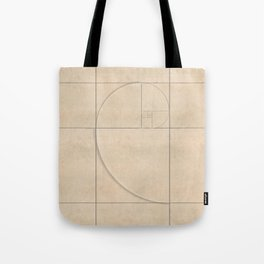Golden Folding Tote Bag