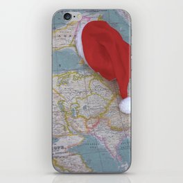 Christmas world iPhone Skin