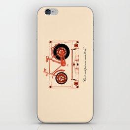 Music Traveler iPhone Skin