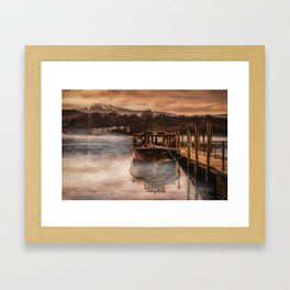 Lakeland Mist Framed Art Print