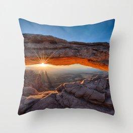 Mesa Arch  Throw Pillow