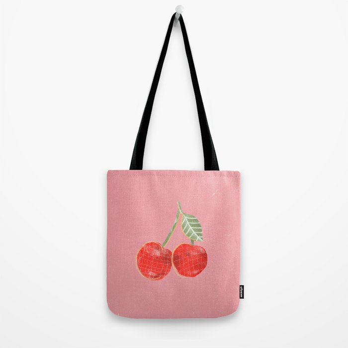 Yummi Cherry Tote Bag