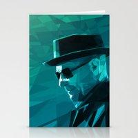 heisenberg Stationery Cards featuring Heisenberg by mobokeh