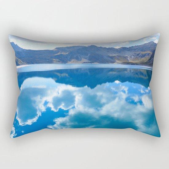 Lüner Lake, Austria Rectangular Pillow