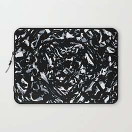 Dark Abstract Print Laptop Sleeve