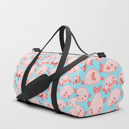 Blobfish Pattern Duffle Bag