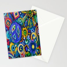 Peace and Purple Stationery Cards