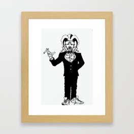 Wealthy Rebel Framed Art Print