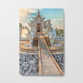 Rong Khun Temple Metal Print