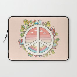 peaceful bright Pacific planet Laptop Sleeve