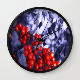 Crispy Berriez Wall Clock