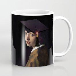 Girl with the Grad Cap Coffee Mug