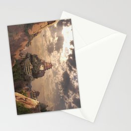 Mountain Monastry Stationery Cards
