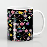 clockwork Mugs featuring Like clockwork by Design by Cherry