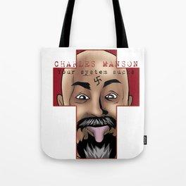 Manson: System Sucks! Tote Bag