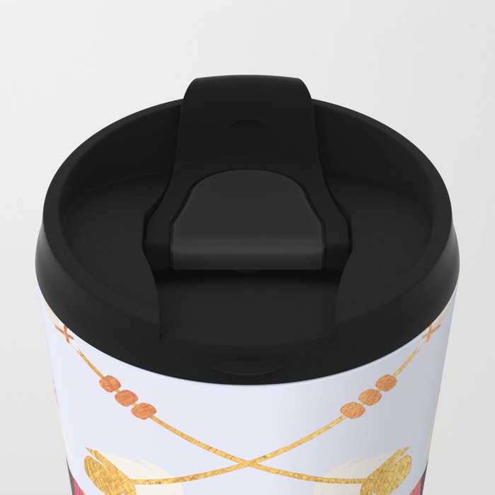 Boho Golden Child Metal Travel Mug