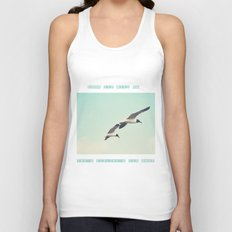 Come fly with me, let's fly, let's fly away Unisex Tank Top