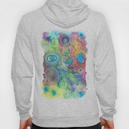 Water colors 1 - Rainbow corals Hoody