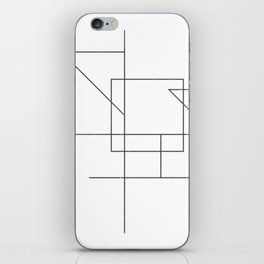 wireframe #003 iPhone Skin