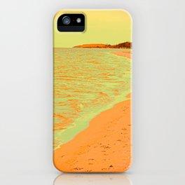 Beach Pastell iPhone Case