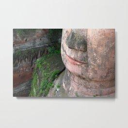Buddha of Leshan, China Metal Print