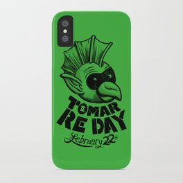 Tomar Re Day iPhone Case